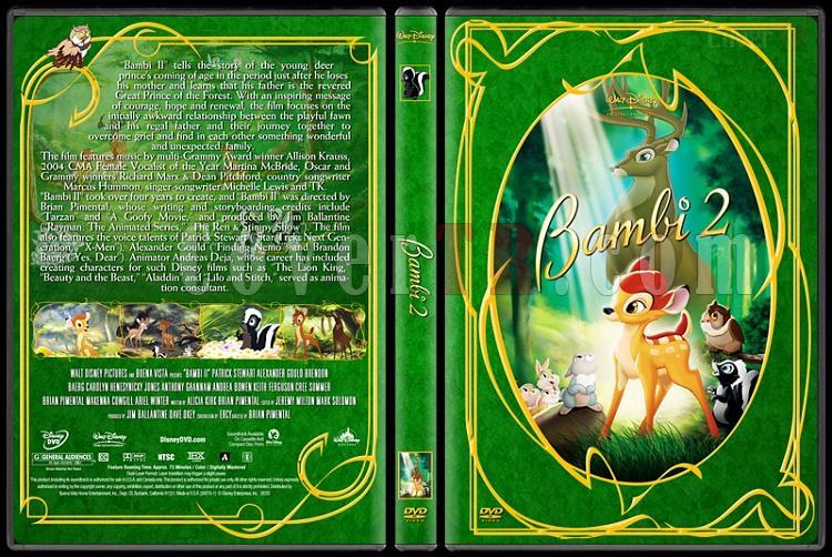 Bambi 2 - Custom Dvd Cover - English [2006]-bambi_2jpg