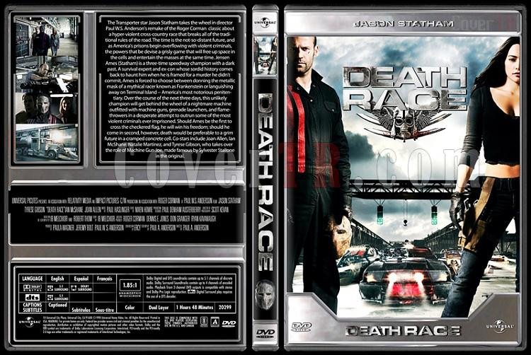 Death Race - Custom Dvd Cover - English [2008]-death_racejpg