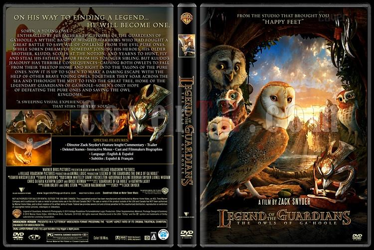 Legend of the Guardians: The Owls of Ga'Hoole - Custom Dvd Cover - English [2010]-legend_of_the_guardiansjpg
