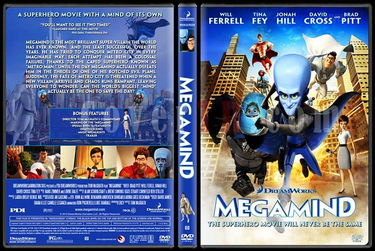 Megamind - Custom Dvd Cover - English [2010]-megamindjpg
