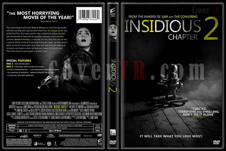 Insidious: Chapter 2 - Custom Dvd Cover - English [2013]-insidious-chapter-2jpg