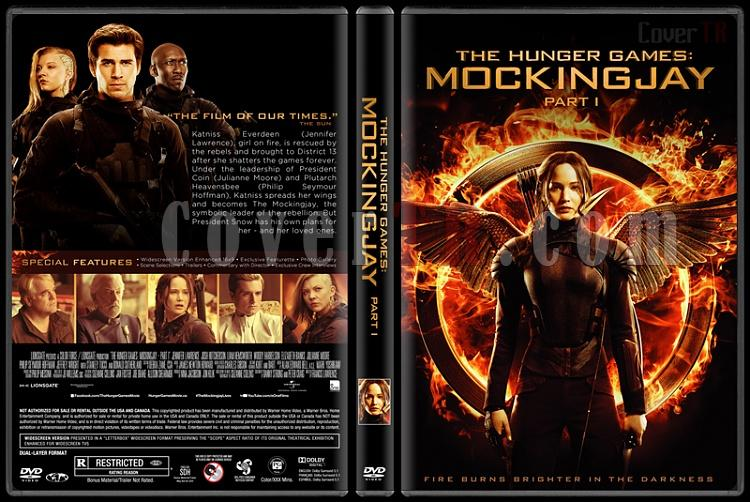 The Hunger Games: Mockingjay - Part 1 (Açlık Oyunları : Alaycı Kuş Bölüm 1) - Custom Dvd Cover - English [2014]-engjpg