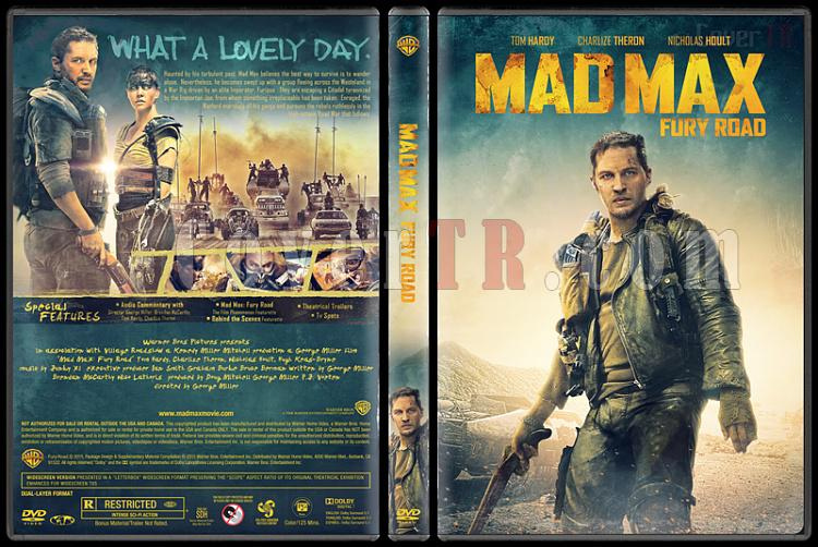Mad Max: Fury Road - Custom Dvd Cover - English [2015]-covertr-dvdjpg