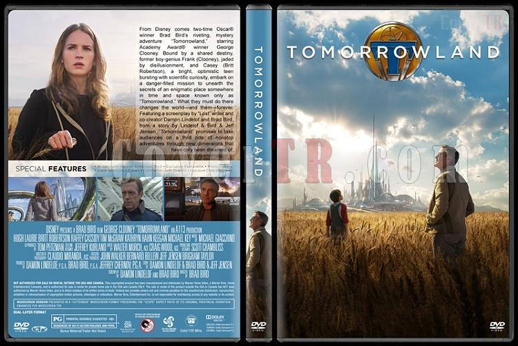 Tomorrowland (Yarının Şehri) - Custom Dvd Cover - English [2015]-covertr-dvdjpg