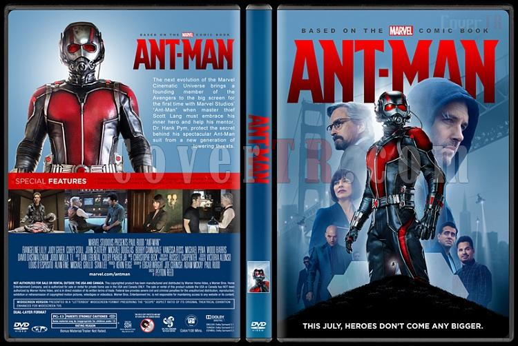 Ant-Man (Karınca Adam) - Custom Dvd Cover - English [2015]-standardjpg