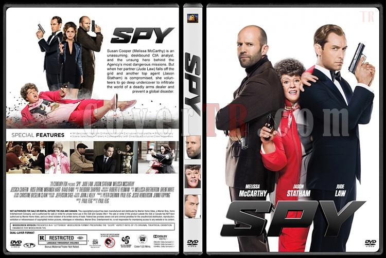 Spy (Ajan) - Custom Dvd Cover - English [2015]-standardjpg