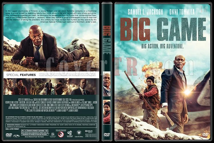 Big Game (Büyük Oyun) - Custom Dvd Cover - English [2014]-standardjpg