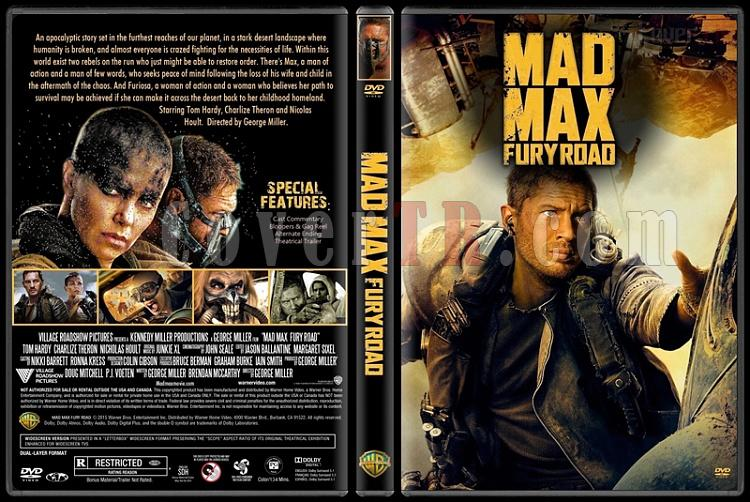 Mad Max: Fury Road (Çılgın Max Öfkeli Yollar) - Custom Dvd Cover - English [2015]-mad-max-fury-road-2015jpg