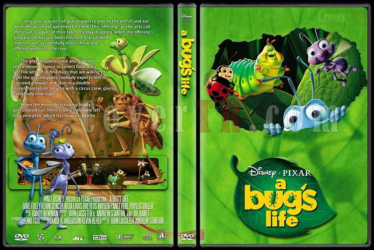 A Bug's Life - Custom Dvd Cover - English [1998]-a_bug_s_lifejpg