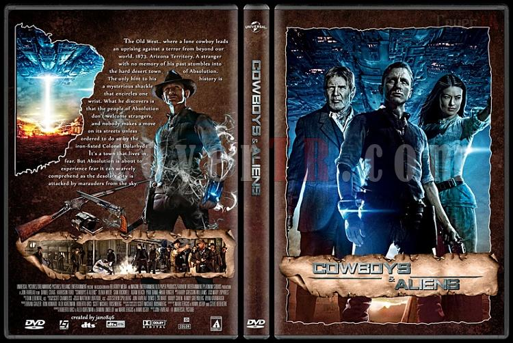 Cowboys & Aliens - Custom Dvd Cover - English [2011]-cowboys___aliensjpg