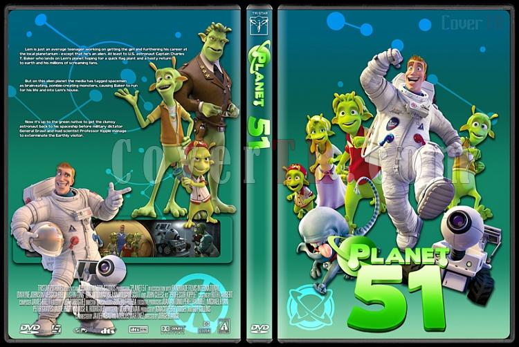 Planet 51 - Custom Dvd Cover - English [2009]-planet51jpg