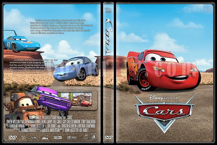Cars Custom Dvd Cover English 2006 Covertr
