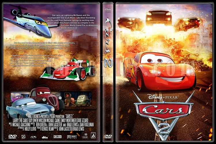 Cars 2 Custom Dvd Cover English 2011 Covertr