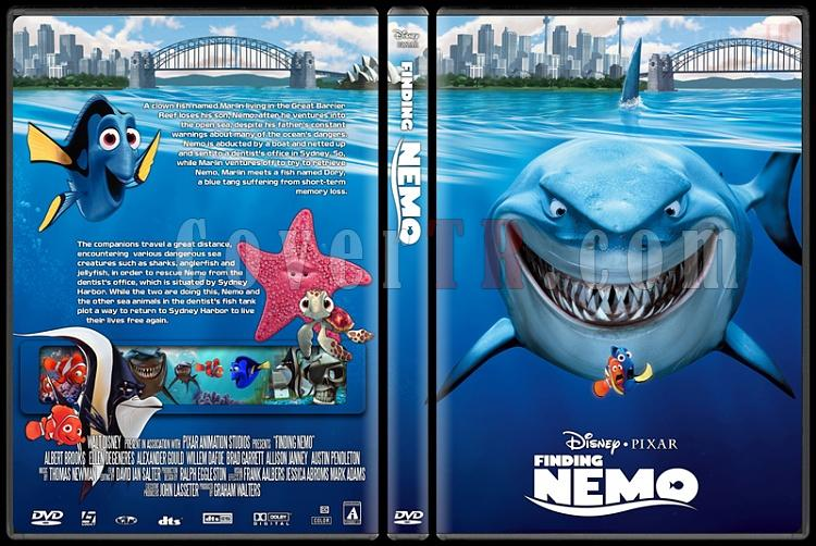 Finding Nemo - Custom Dvd Cover - English [2003]-finding_nemojpg