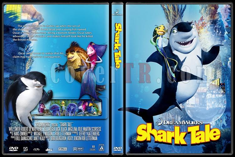 Shark Tale - Custom Dvd Cover - English [2004]-shark_talejpg