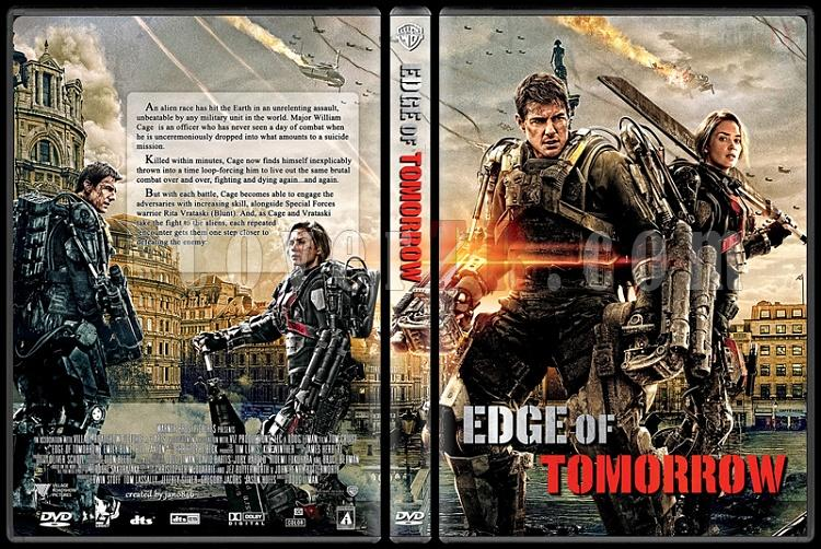 Edge of Tomorrow - Custom Dvd Cover - English [2014]-edge_of_tomorrowjpg