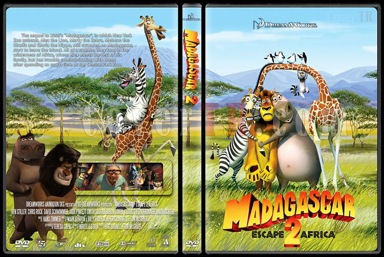 Madagascar: Escape 2 Africa - Custom Dvd Cover - English [2008]-madagascar_2jpg