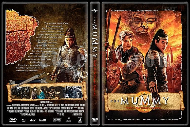The Mummy: Tomb of the Dragon Emperor - Custom Dvd Cover - English [2008]-the_mummy_tomb_of_the_dragon_emperorjpg