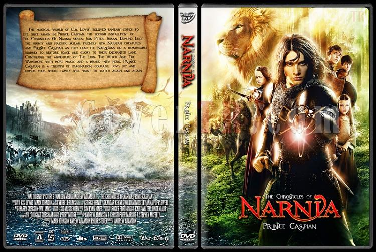 The Chronicles of Narnia: Prince Caspian - Custom Dvd Cover - English [2008]-the_chronicles_of_narnia_prince_caspian3jpg