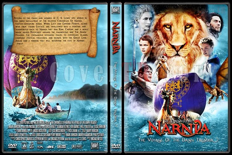 The Chronicles of Narnia: The Voyage of the Dawn Treader - Custom Dvd Cover - English [2010]-the_chronicles_of_narnia_the_voyage_of_the_dawn_treader1jpg