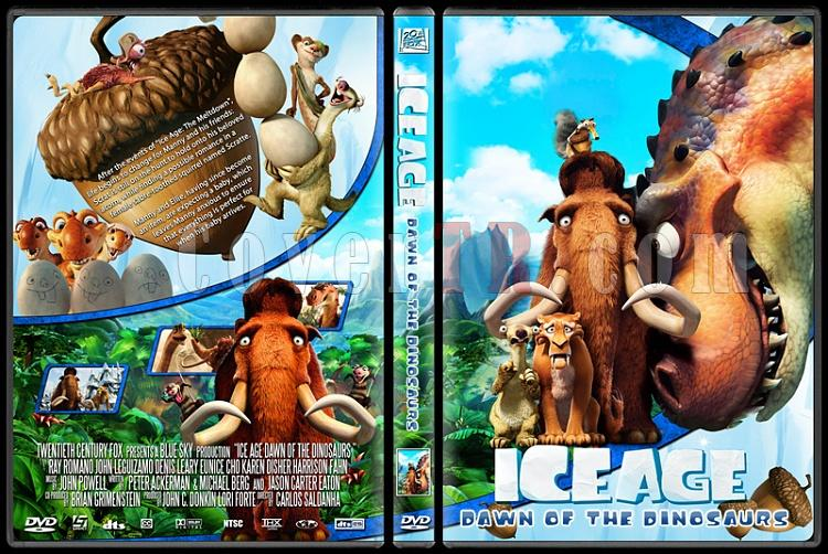 Ice Age 3: Dawn of the Dinosaurs - Custom Dvd Cover - English [2009]-ice_age_3_dawn_of_the_dinosaursjpg