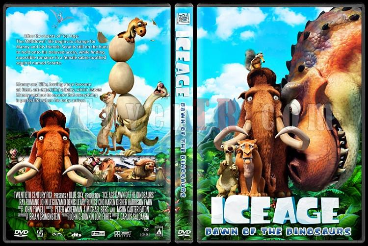 Ice Age 3: Dawn of the Dinosaurs - Custom Dvd Cover - English [2009]-ice_age_dawn_of_the_dinosaursjpg