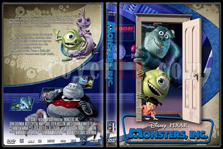 Monsters, Inc. - Custom Dvd Cover - English [2001]-monstersjpg