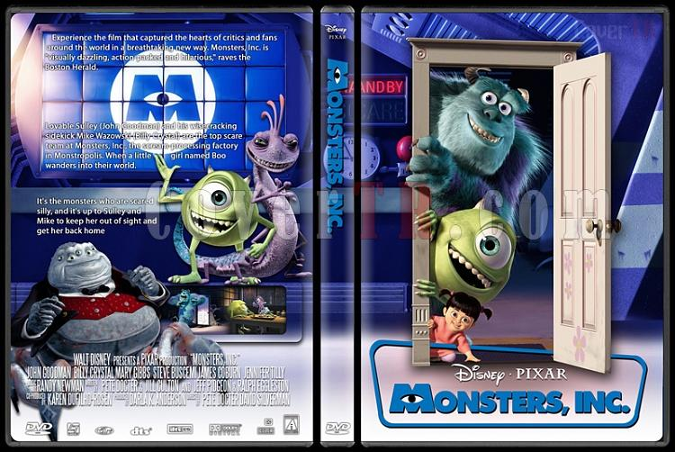 Monsters, Inc. - Custom Dvd Cover - English [2001]-monsters_inc0jpg