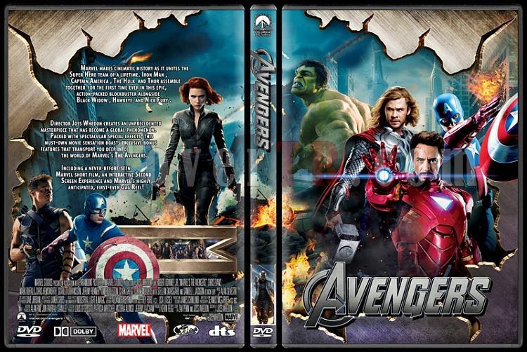 The Avengers - Custom Dvd Cover - English [2012]-avengersjpg