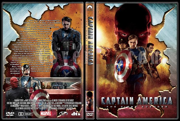 Captain America: The First Avenger - Custom Dvd Cover - English [2011]-captain_america_the_first_avengerjpg