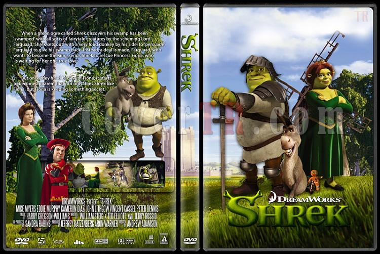 Shrek - Custom Dvd Cover - English [2001]-shrek0jpg