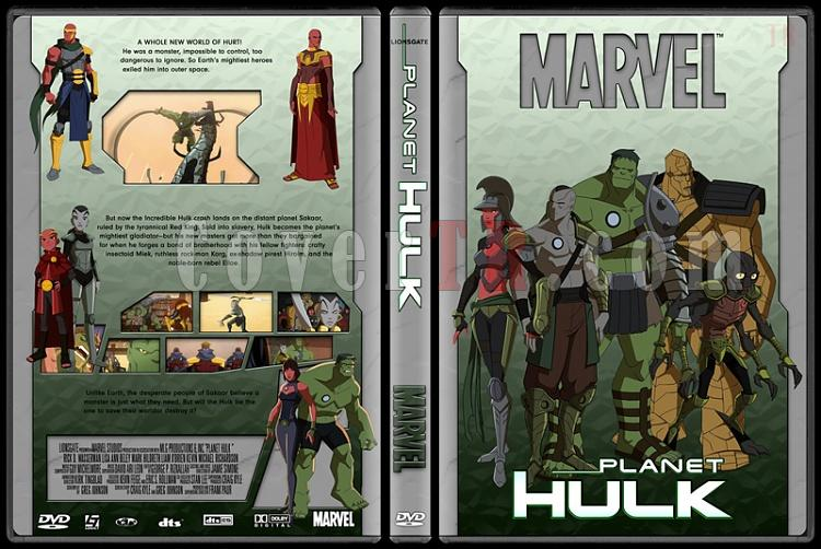 Planet Hulk - Custom Dvd Cover - English [2010]-planet_hulk-grayjpg