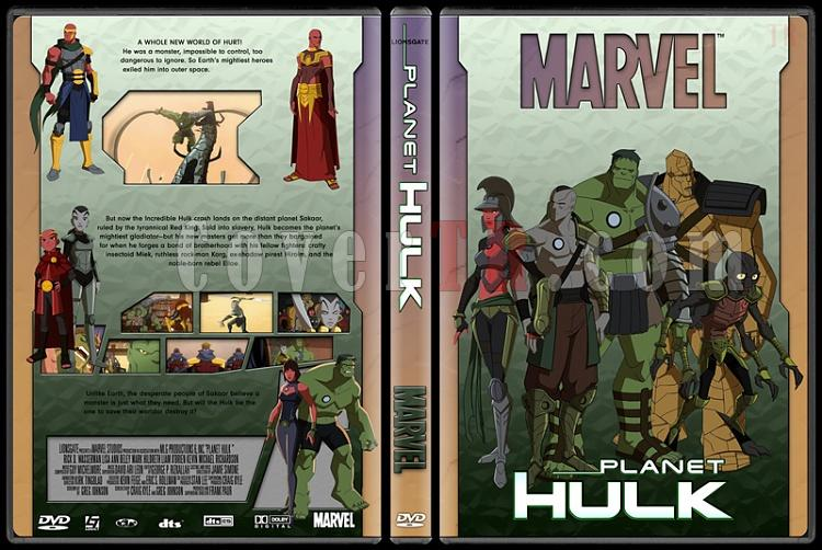Planet Hulk - Custom Dvd Cover - English [2010]-planet_hulkjpg