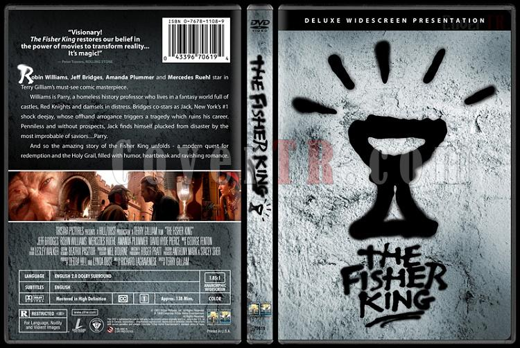 The Fisher King - Custom Dvd Cover - English [1991]-fisherkingdvdbunnydojojpg