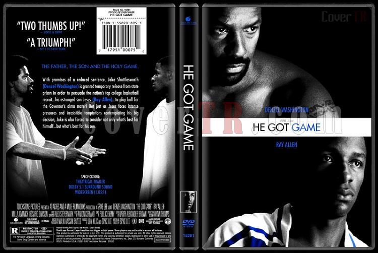 He Got Game - Custom Dvd Cover - English [1988]-hegotgamebunnydojojpg