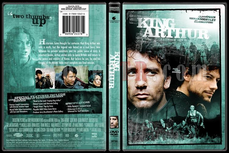 King Arthur - Custom Dvd Cover - English [2004]-king_arthur-bunnydojojpg