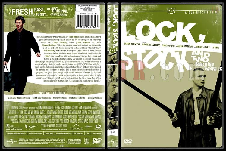 Lock, Stock and Two Smoking Barrels - Custom Dvd Cover - English [1998]-lockstockbunnydojojpg