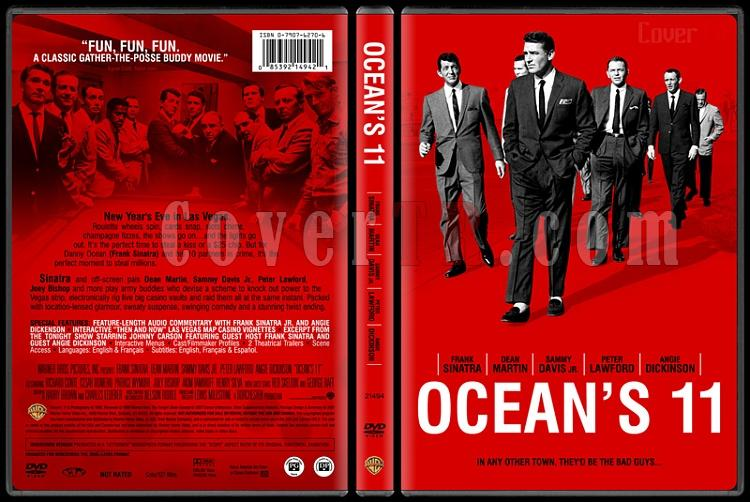 Ocean's Eleven - Custom Dvd Cover - English [2001]-oceans11bunnydojojpg
