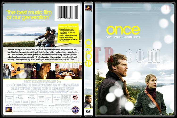 Once - Custom Dvd Cover - English [2006]-oncedvdbunnydojojpg