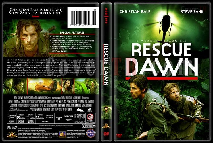 Rescue Dawn - Custom Dvd Cover - English [2006]-rescuedawndvdbunnydojojpg