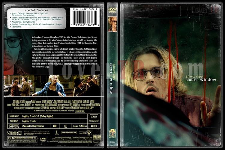 Secret Window - Custom Dvd Cover - English [2004]-secretwindowbunnydojojpg