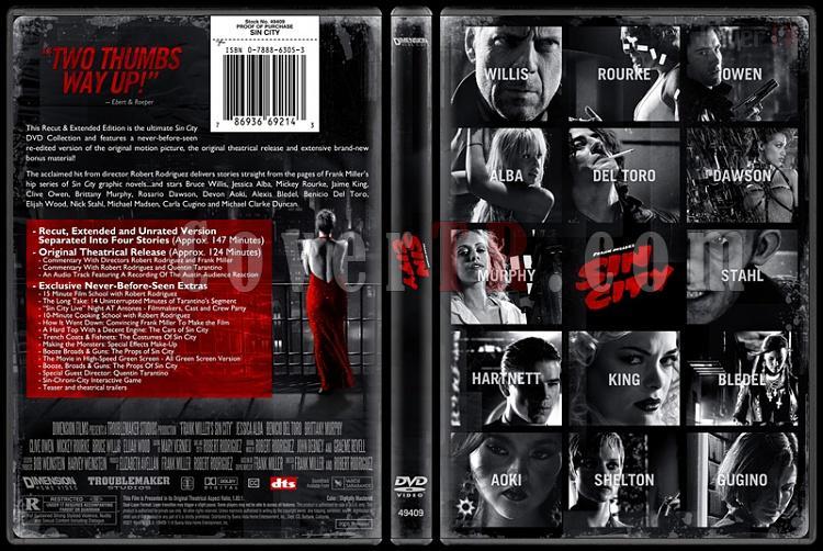 Sin City - Custom Dvd Cover - English [2005]-sincitydvdbunnydojojpg