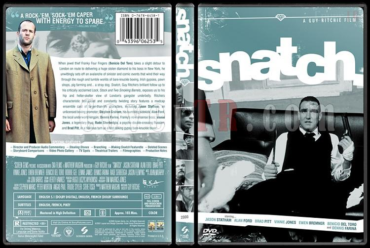 Snatch - Custom Dvd Cover - English [2000]-snatchbunnydojojpg