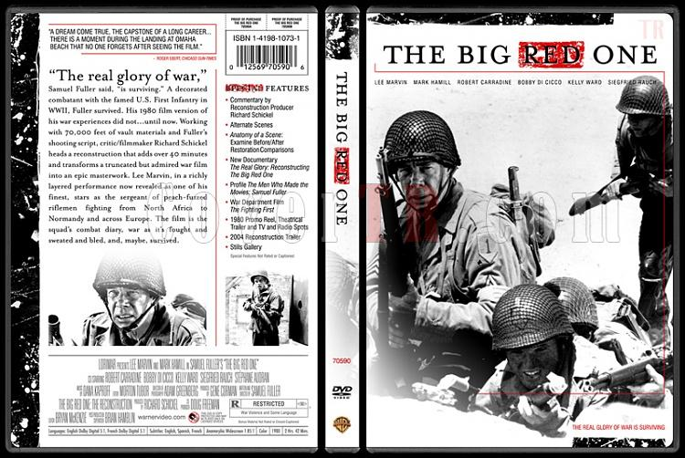 The Big Red One - Custom Dvd Cover - English [1980]-thebigredonebunnydojojpg