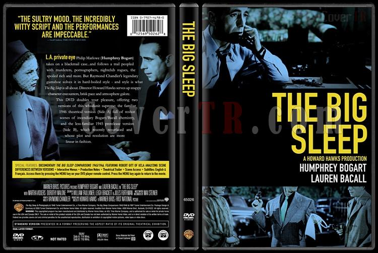 The Big Sleep - Custom Dvd Cover - English [1946]-thebigsleepbunnydojo_2jpg