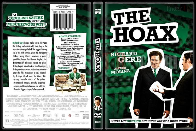 The Hoax - Custom Dvd Cover - English [2006]-thehoaxbunnydojojpg