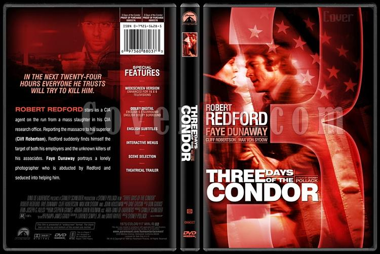 Three Days of the Condor - Custom Dvd Cover - English [1975]-threedaysofthecondorbunnydojojpg