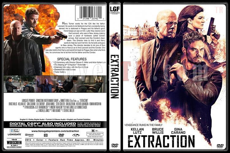 Extraction - Custom Dvd Cover - English [2015]-extraction-dvd-cover-jokerjpg