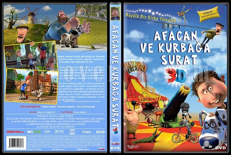 Freddy Frogface (Afacan Ve Kurbağa Surat) - Custom Dvd Cover - Türkçe [2011]-afacan-ve-kurbaga-surat-3d-freddy-frogfacejpg