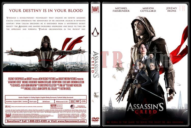 Assassin's Creed - Custom Dvd Cover - English [2016]-assassins-creed-ctrjpg